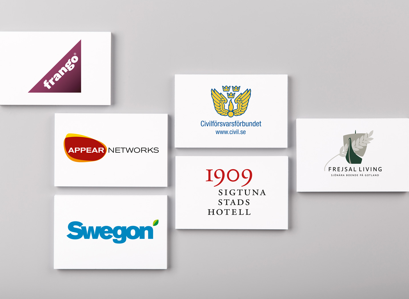 Various Corporate Identities